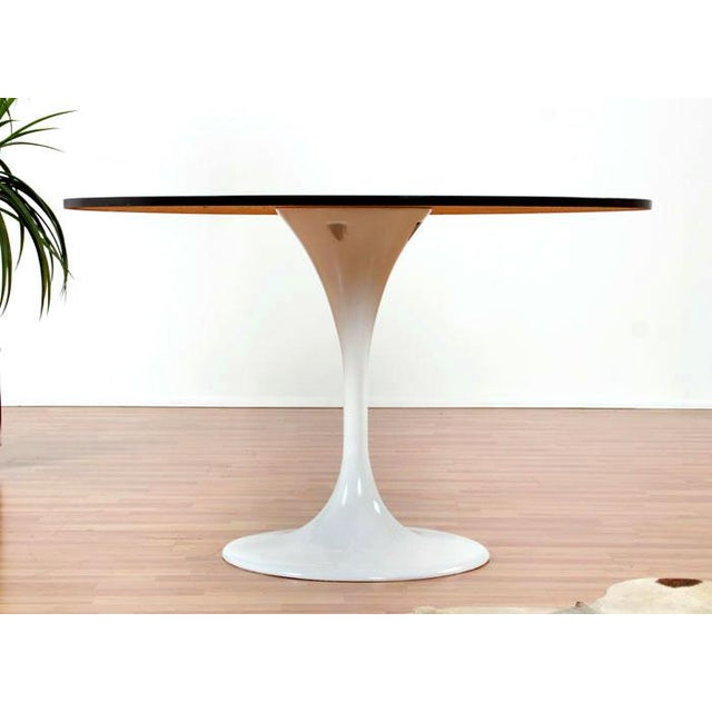 Restored Tulip Table With Copper and Black Mosaic - Image 3 of 7