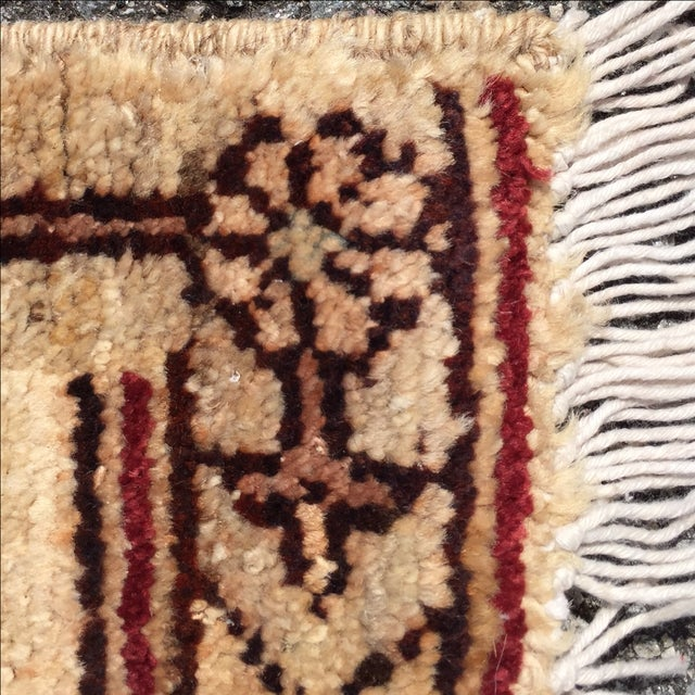 Sultanabad Persian Rug - 1′4″ × 1′11″ - Image 10 of 10