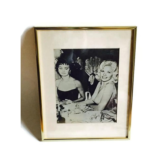 Vintage Hollywood Glamour Movie Stars Photo - Image 2 of 6