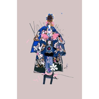 """Valentino Couture"" Limited Edition Print by Annie Naranian For Sale"