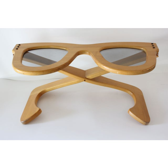 Pop Art Sunglasses Coffee Table For Sale - Image 3 of 7