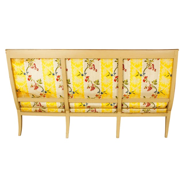 Mid-Century Modern Late 19th Century Directoire Settee For Sale - Image 3 of 4