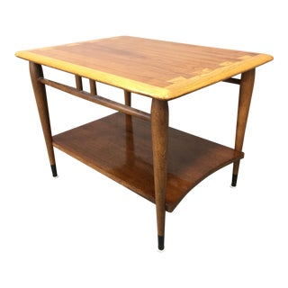 1950s Mid-Century Modern Andre Bus for Lane Acclaim Series Side Table For Sale