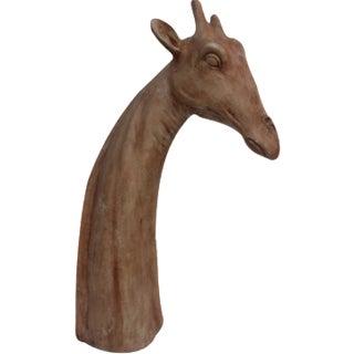 Vintage Fiberglass Giraffe Bust