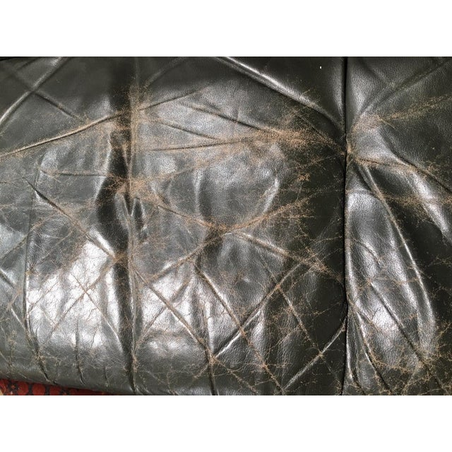 Leather 1960s Vintage Percival Lafer Brazilian Sofa For Sale - Image 7 of 8