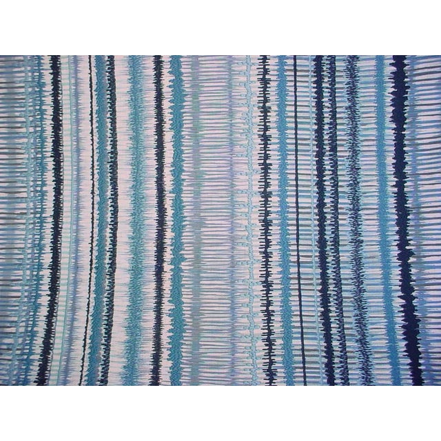 2020s Lee Jofa Gp & J Baker Toledo Embroidered Ikat Upholstery Fabric- 2 7/8 Yards For Sale - Image 5 of 5