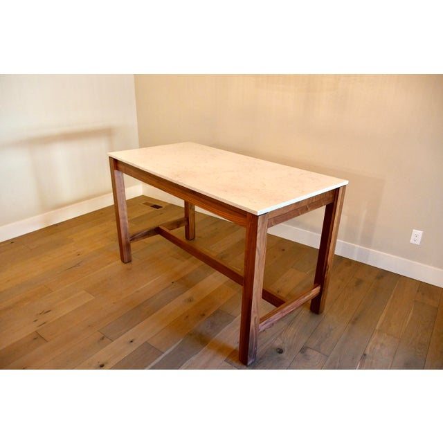 2010s Room & Board Linden Dining Counter Bar Table For Sale - Image 5 of 9