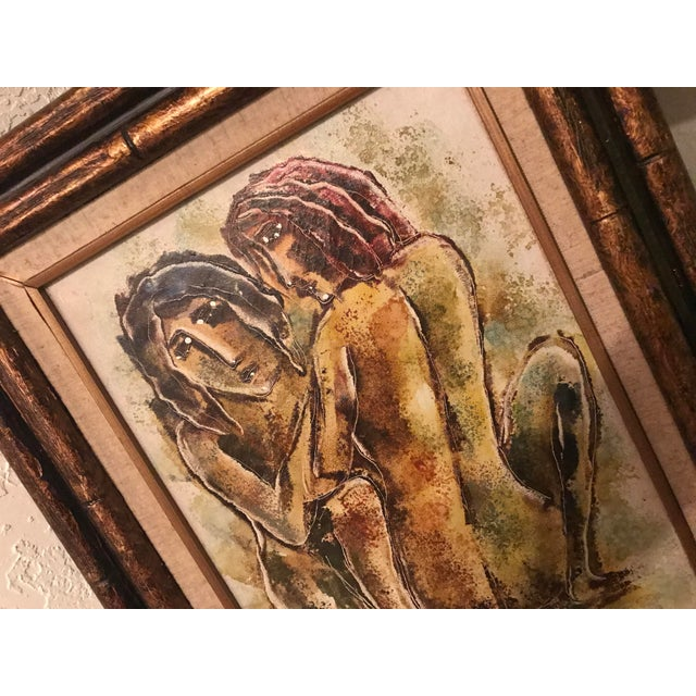 Original Calvin Waller Burnett Oil Painting For Sale In Phoenix - Image 6 of 9