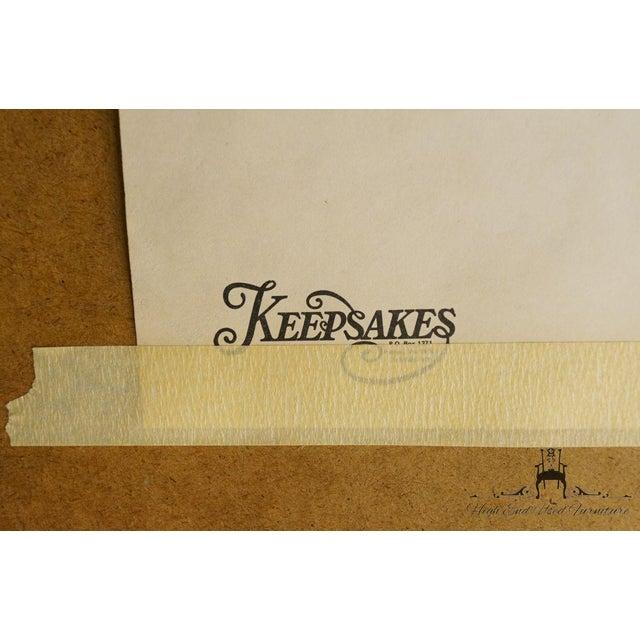 Pulaski Furniture Keepsakes Collection Oak Dresser & Wishbone Mirror For Sale - Image 12 of 13