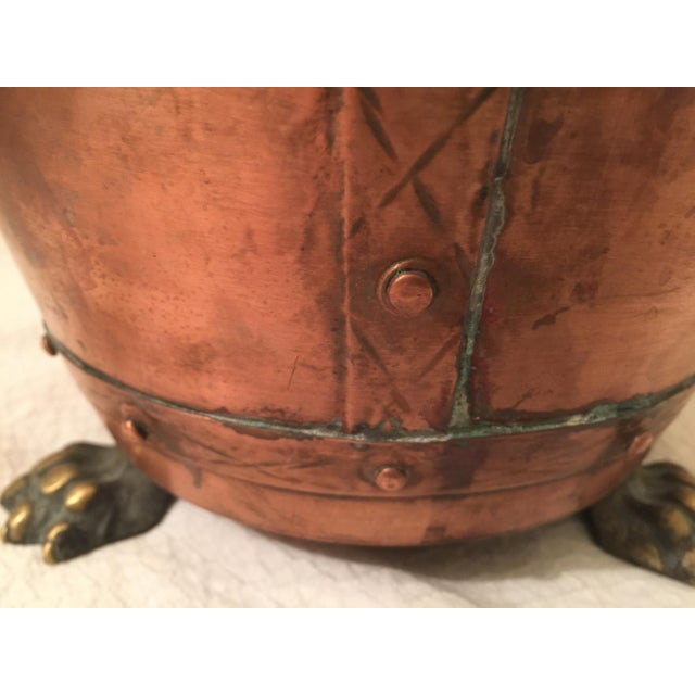English Copper Cachepot - Image 3 of 8