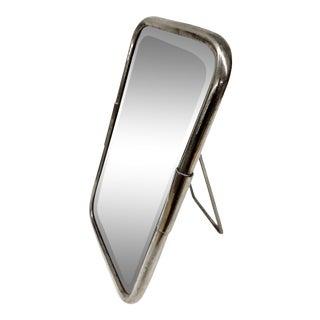Antique Art Deco Standing Shaving Mirror For Sale