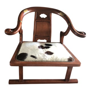 "Asian Modern Michael Taylor for Baker ""Far-East"" Lounge Chair For Sale"