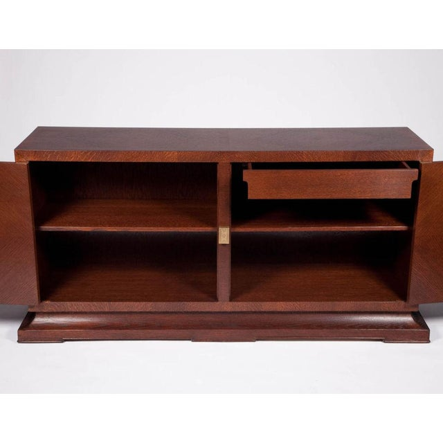 Charak Furniture Company Tommi Parzinger for Charak Sideboard Console For Sale - Image 4 of 5