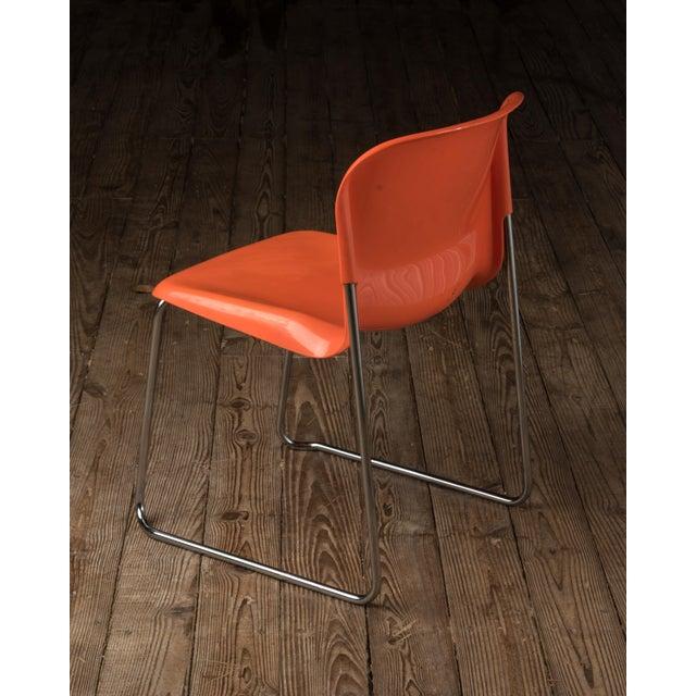 "Modern 1976 Vintage Gerd Lange ""Swing Chairs"" - Set of 6 For Sale - Image 3 of 13"