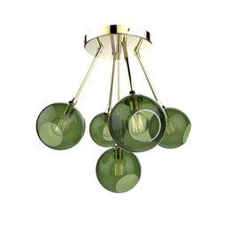 Image of Green Chandeliers
