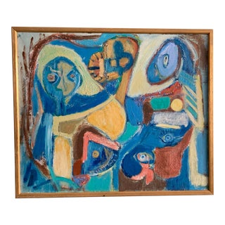 1970s Otto Pontoppidan (B.1912) Figural Composition For Sale