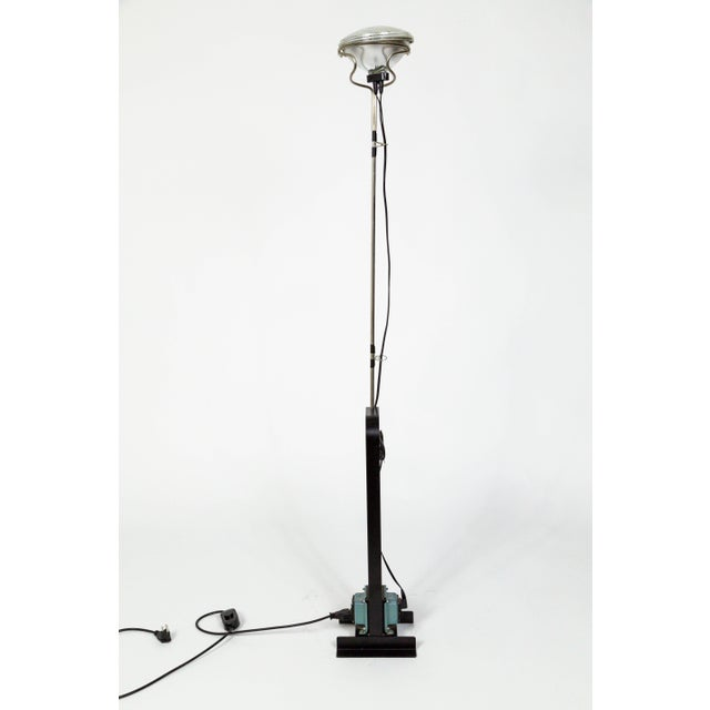 Industrial Castiglioni Toio Industrial Black Floor Lamp by Flos For Sale - Image 3 of 13