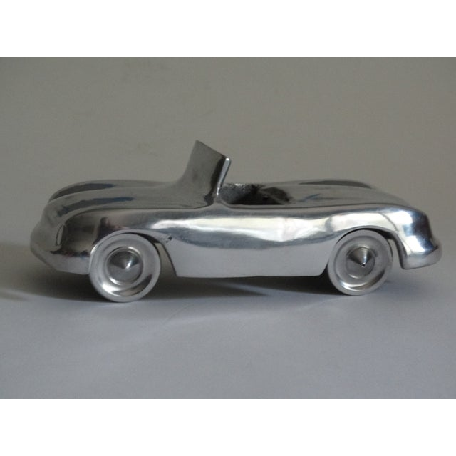 Stylized 1950's Chrome Roadster For Sale - Image 4 of 8