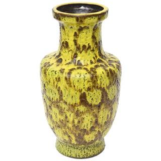 German Bay Keramik Fat Glaze Mid-Century Modern Ceramic Vase or Vessel For Sale