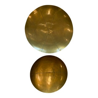 Brass Discs - a Pair For Sale