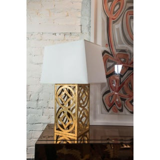 Lee Gold Steel Circle Table Lamp Preview