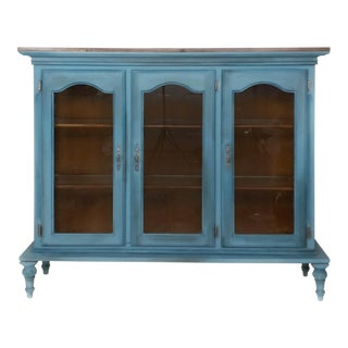 Country Style China Cabinet For Sale