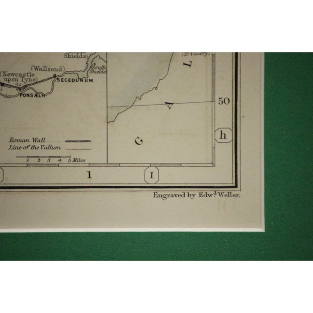 Paper Britannia Map by Edw. Weller For Sale - Image 7 of 8