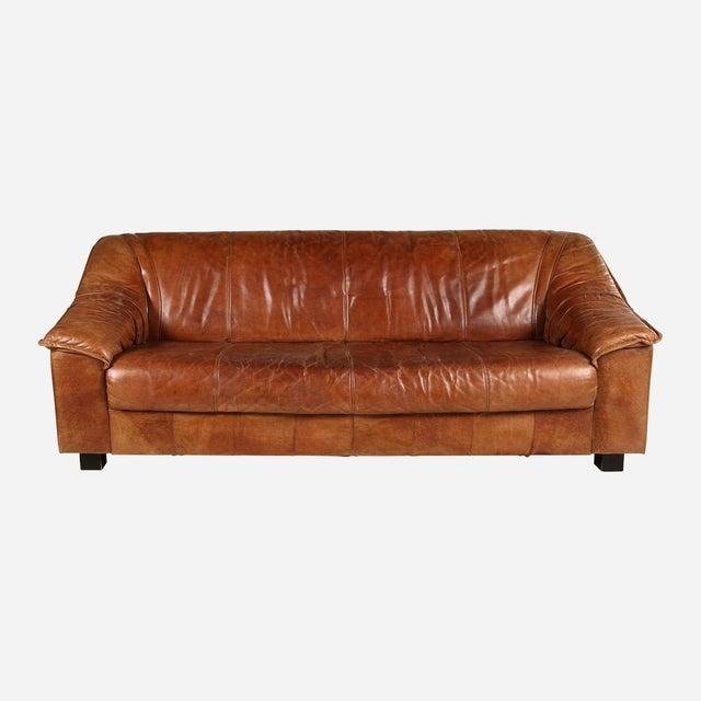 De Sead Midcentury leather sofa. Perfect condition. Leather is in perfect condition with beautiful patina.