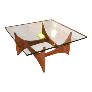 1960s Mid-Century Modern Adrian Pearsall for Craft Associates Sculptural Cocktail Table For Sale