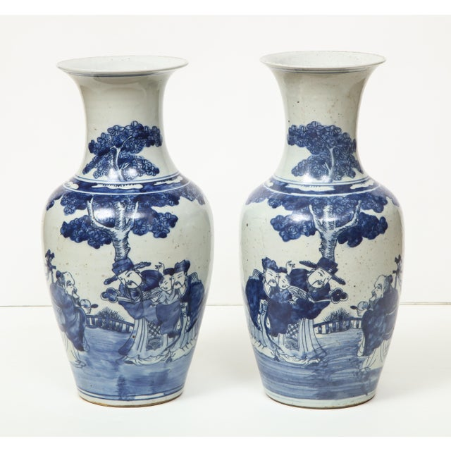 Chinese Export Vases - A Pair For Sale - Image 9 of 13