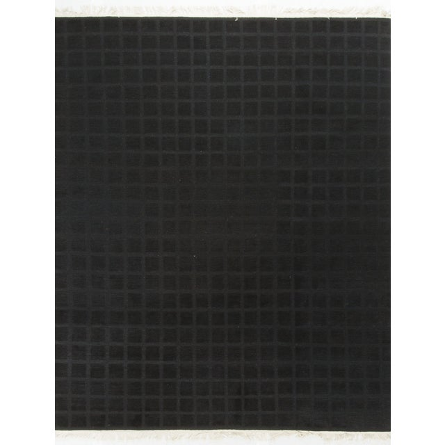 Modern Hand-Knotted Wool Rug 8' X 10' - Image 1 of 4