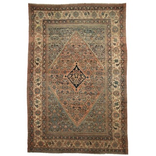 RugsinDallas Persian Hand Knotted Wool Mashad Rug- 10′9″ × 16′8″ For Sale