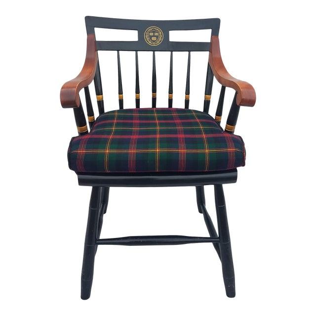 Harvard University Veritas Nichols & Stone Captain's Chair For Sale
