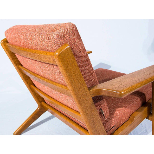 Hans Wegner GE-290 Lounge Chair For Sale In Los Angeles - Image 6 of 10