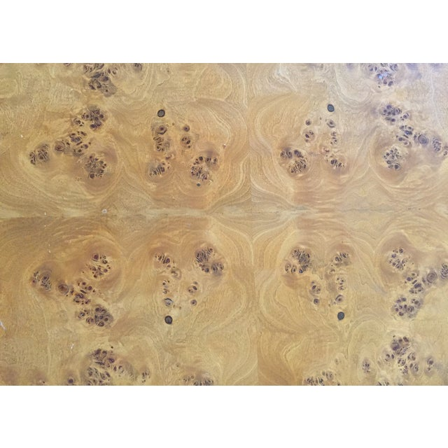 Burl Cube Coffee Table - Image 7 of 9