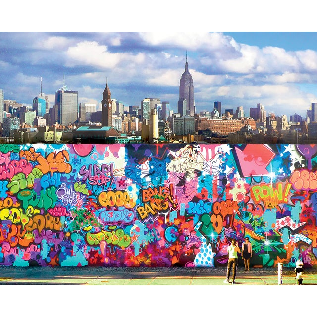 New York Street Graffiti Art Photograph - Image 1 of 2