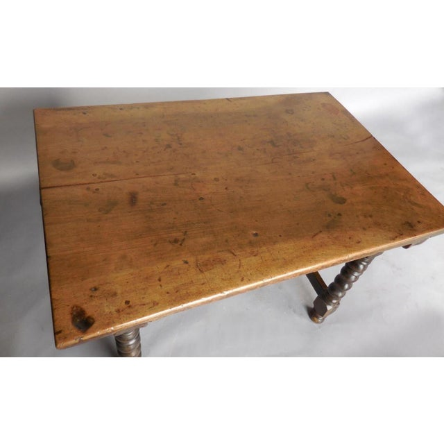 Wood 18th Century Spanish Table For Sale - Image 7 of 11