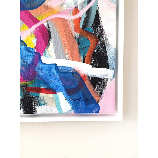 Abstract Circus Treats Contemporary Painting For Sale - Image 3 of 5