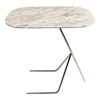 Contemporary Interlude | Carrara Pull Up Table For Sale
