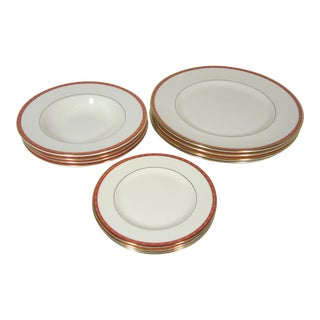 1970s Minton Carlton Dinnerware - Set of 12 For Sale