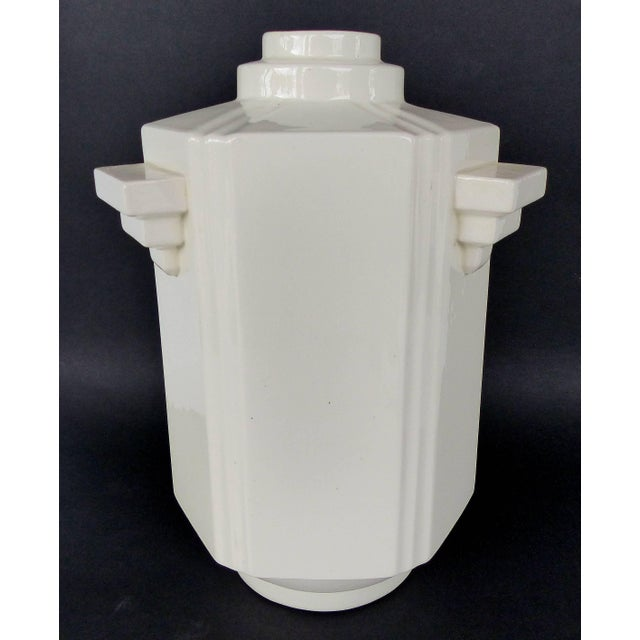 Art Deco Vase from Boch Frères La Louvière, Belgium, circa 1920s Offered for sale is a Belgian Art Deco vase from Boch...