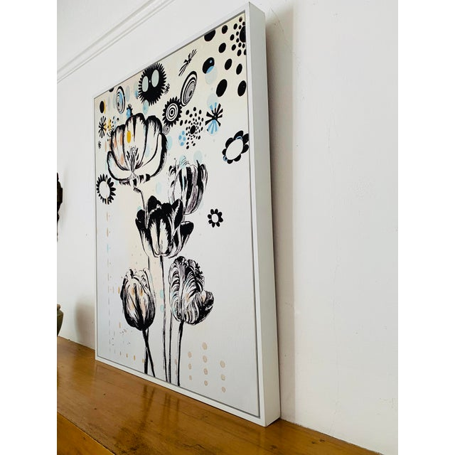 2010s Last Markdown: Tulipiere 220 Framed Fine Art Giclee on Canvas For Sale - Image 5 of 9
