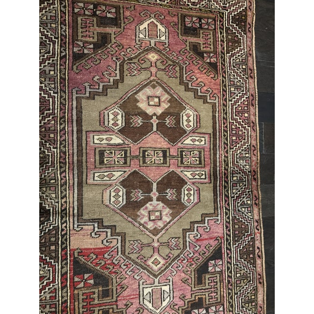 """Bellwether Rugs Distressed Look Vintage Turkish Oushak - 2'11""""x4'7"""" - Image 3 of 11"""