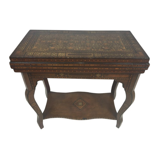 1930's Moroccan Game Table For Sale