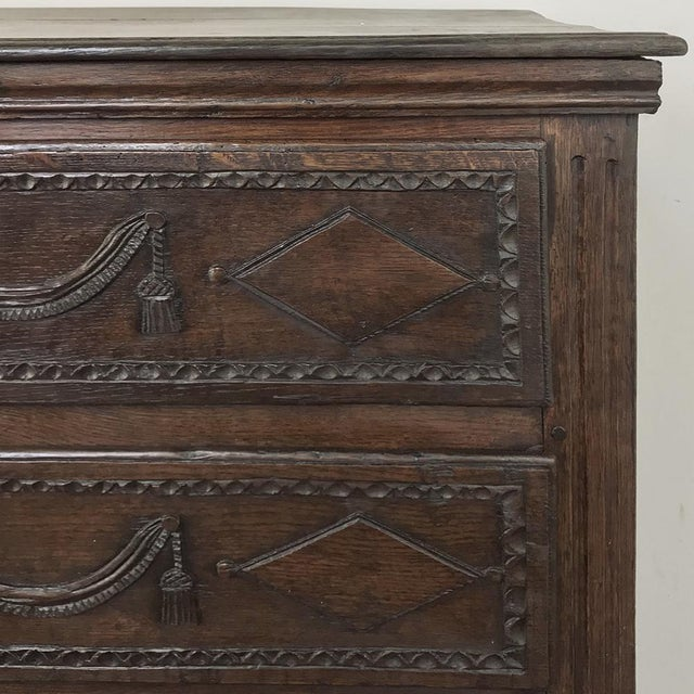 18th Century Country French Louis XVI Commode For Sale - Image 10 of 12