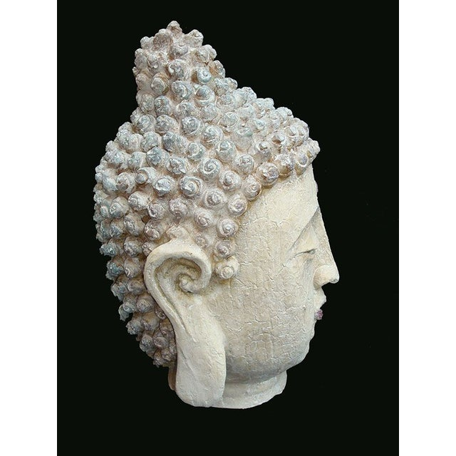 Extra Large Buddha Head For Sale - Image 4 of 6