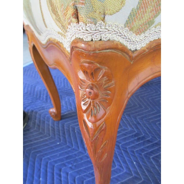 French Provincial Footstool For Sale - Image 6 of 12