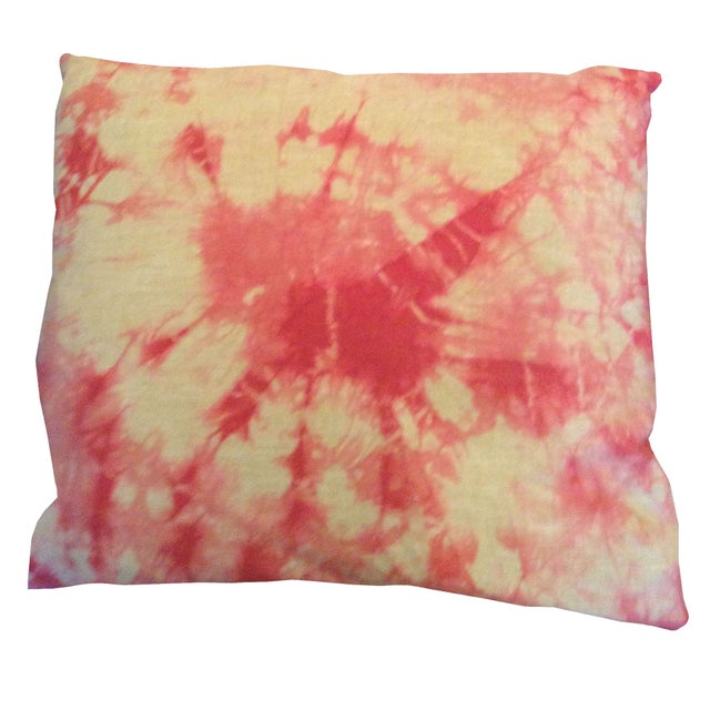 Tie Dye Pillow - Hot Pink - Image 1 of 3