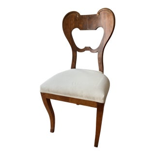 1930s Vintage Austrian Beidermeier Chair For Sale