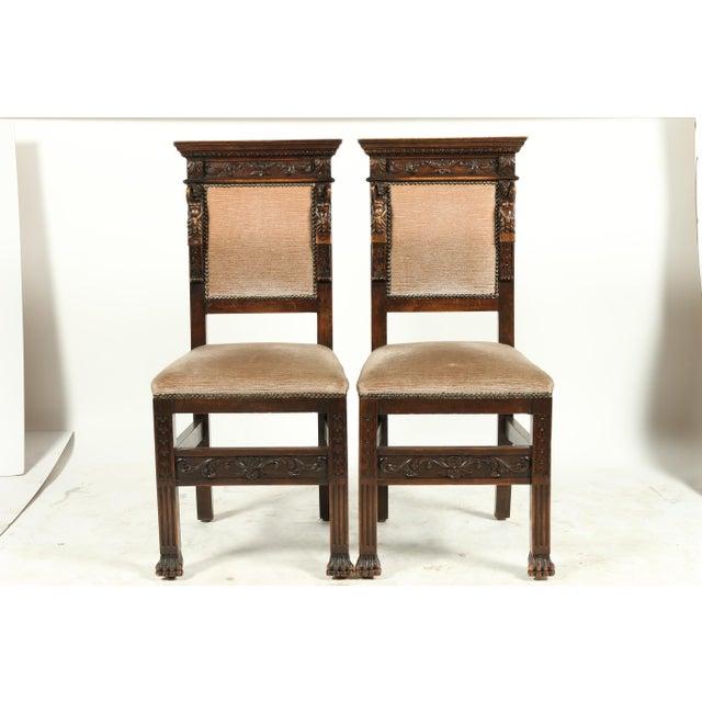 1890s Baronial Italian Renaissance Style Chairs S 4 Chairish